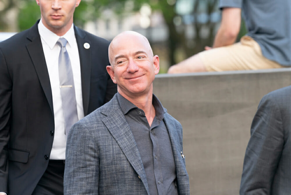 Jeff Bezos commits $10bn to tackle climate change
